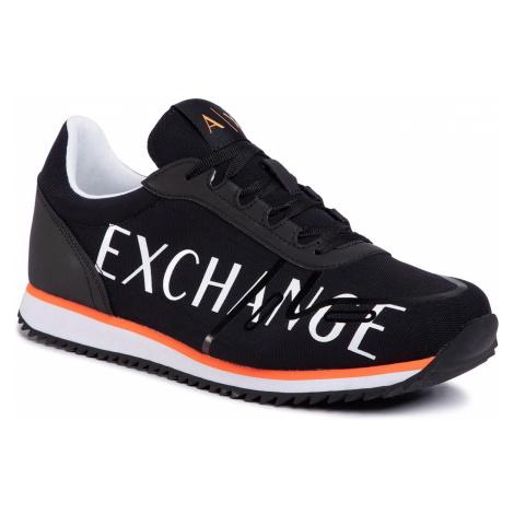 Sneakersy ARMANI EXCHANGE - XUX062 XV222 00002 Black