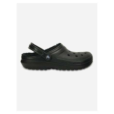 Classic Fuzz Lined Clog Crocs Crocs Čierna