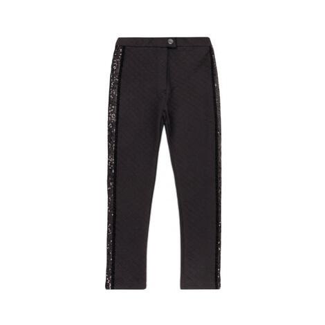 Primigi Bavlnené nohavice BLACK COUTURE Black Party 44123601 Čierna Regular Fit
