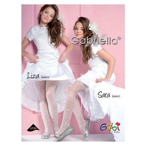 Dievčenské pyžamo 759 Liza white Gabriella