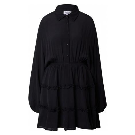 LeGer by Lena Gercke Košeľové šaty 'Fabrice'  čierna