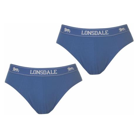 Lonsdale 2Pk Brief pánske Blue