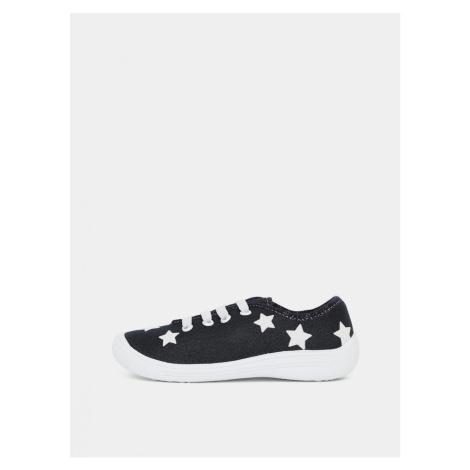 Dark blue girl sneakers 3F