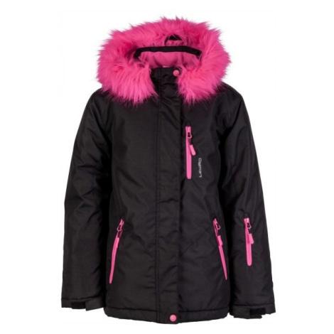 Lewro DARLEEN čierna - Dievčenská snowboardová bunda