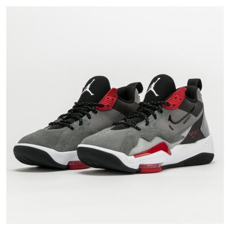 Jordan Zoom '92 smoke grey / black - gym red - white