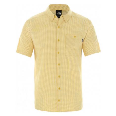 The North Face HYPRESS ST žltá - Pánska košeľa