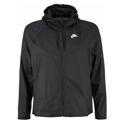 Nike Sportswear Prechodná bunda  čierna