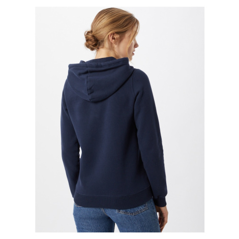 HOLLISTER Tepláková bunda  námornícka modrá / biela
