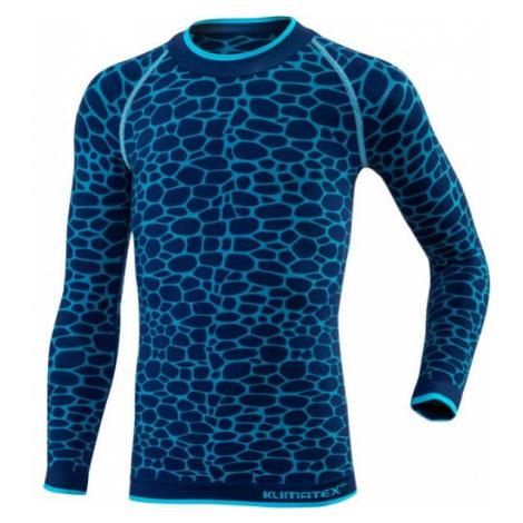 Klimatex DELI modrá - Funkčné detské termo tričko