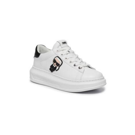 KARL LAGERFELD Sneakersy KL62530 Biela