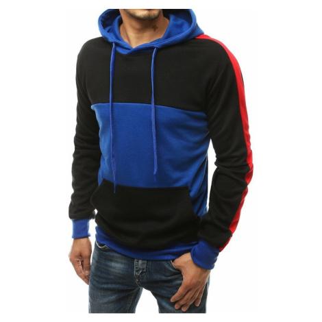 Men's blue hoodie BX4575 DStreet