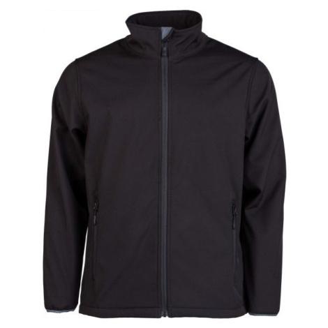 Kensis RORI čierna - Pánska softshellová bunda