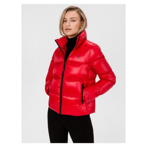 Bunda Calvin Klein Červená