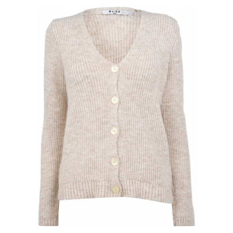 NA-KD Knitted Hairy Cardigan