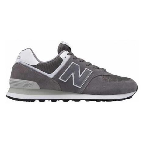 New Balance ML574ESN šedá - Pánska voľnočasová obuv