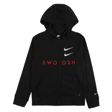 Nike Sportswear Tepláková bunda  čierna