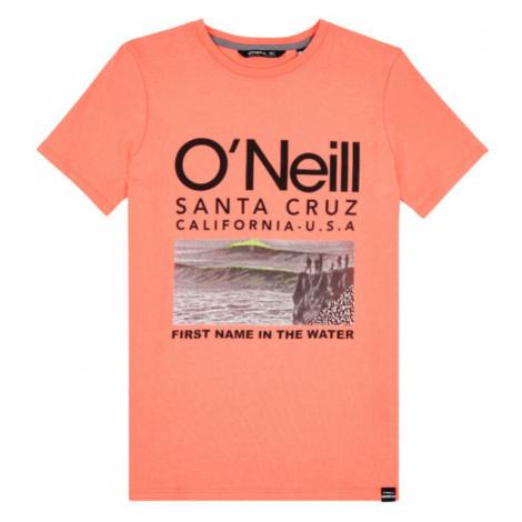 O'Neill LB THE POINT T-SHIRT oranžová - Chlapčenské tričko