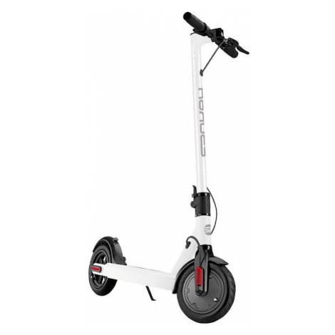 Spokey TORCH Elektrická koloběžka bílá s černými detaily, kolečka 8,5', do 100 kg