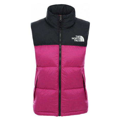 The North Face W 1996 Retro Nuptse Vest Wild Aster Purple-L ružové NF0A3XEPZDN-L