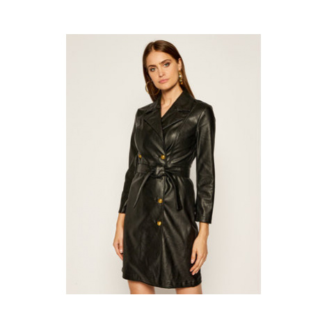 Pinko Prechodný kabát Villano AI 20-21 BLK01 1G152F Y6BE Čierna Regular Fit