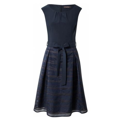 Vera Mont Kokteilové šaty  tmavomodrá / tmavosivá