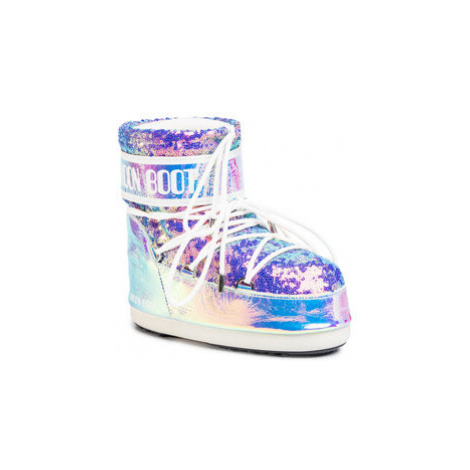 Moon Boot Snehule Mb Classic Low 50 Leather Holo 14089400001 Farebná