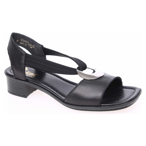 Dámské sandály Rieker 62662-01 schwarz 62662-01