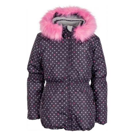 Lewro PAOLA hnedá - Detská zimná bunda
