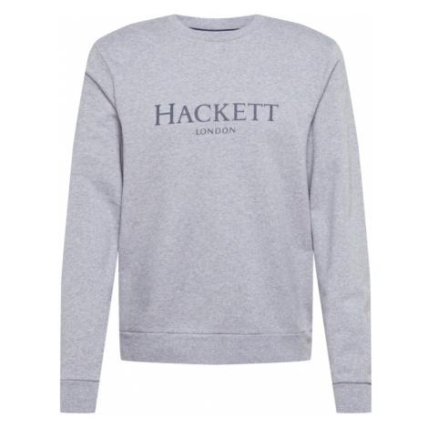 Hackett London Mikina  sivá melírovaná / tmavosivá