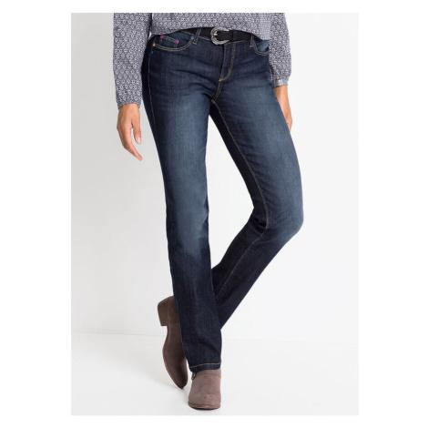 Komfortné strečové džínsy, STRAIGHT bonprix