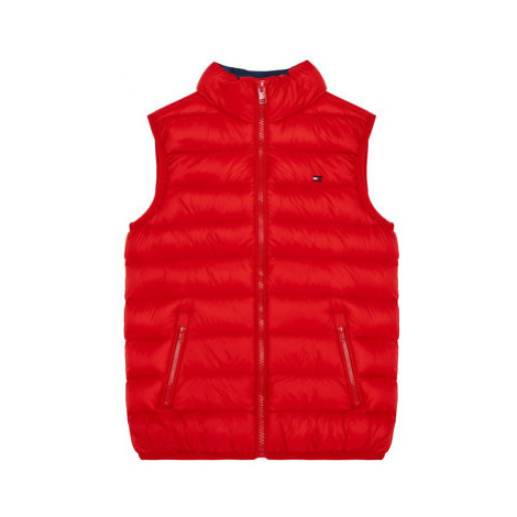 Tommy Hilfiger Vesta Light Down KS0KS00127 D Červená Regular Fit