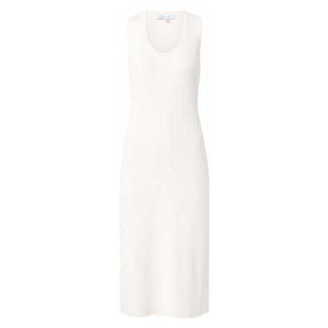 NU-IN Pletené šaty  biela