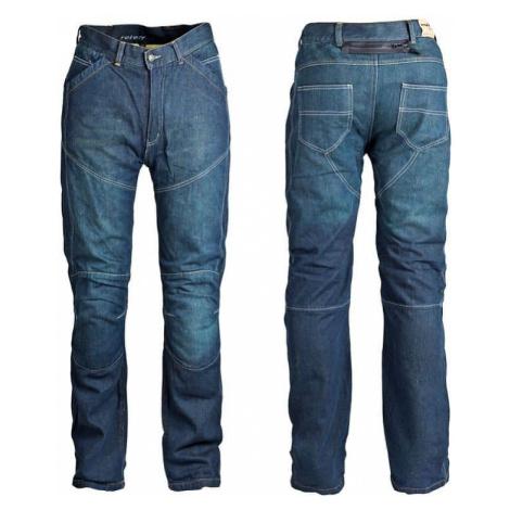 Pánske jeansové moto nohavice ROLEFF Aramid Farba modrá