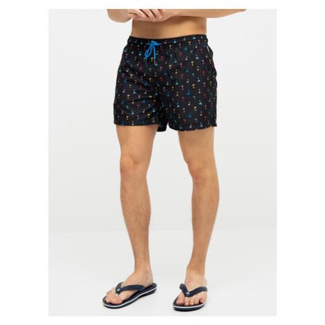 Happy Socks Palm Beach Men's Patterned Swimsuit