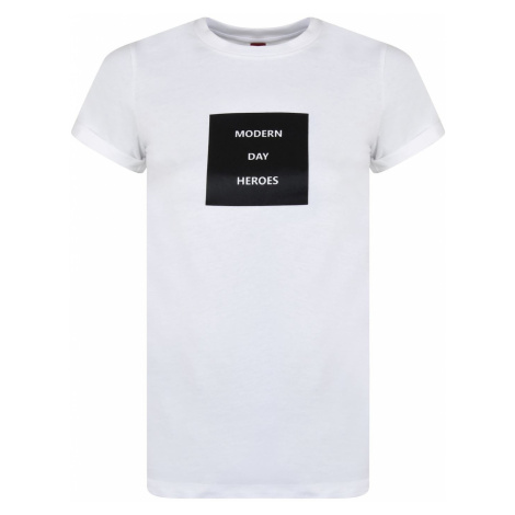 Hugo Slim Fit Modern Day Heros T Shirt Hugo Boss