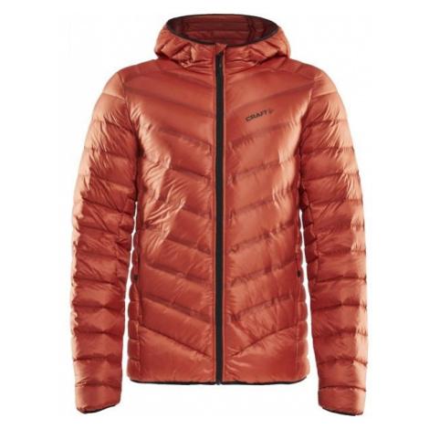 Craft LIGHTWEIGHT DOWN oranžová - Pánska zimná bunda