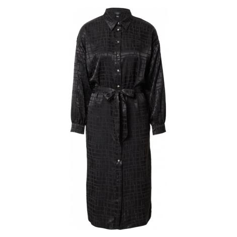 River Island Košeľové šaty 'MILLY'  čierna