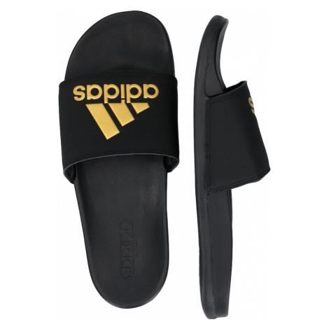 ADIDAS PERFORMANCE Plážové / kúpacie topánky  čierna / zlatá