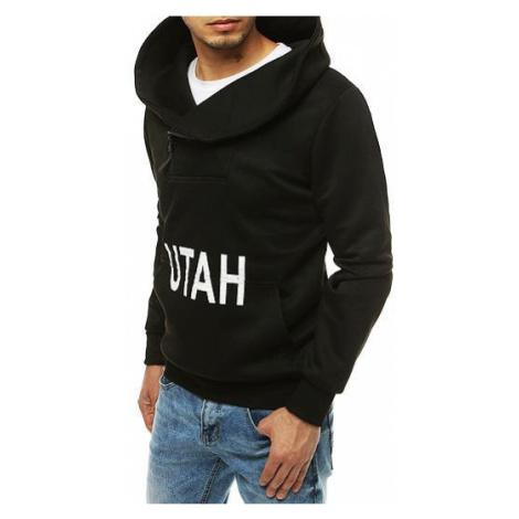 Black men's hoodie BX4528 DStreet