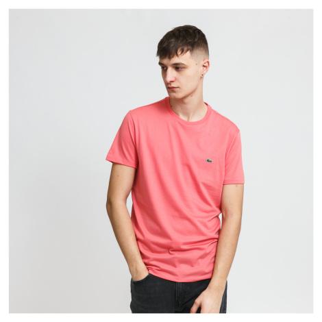 LACOSTE Men's T-Shirt ružový