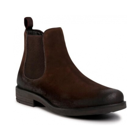 Členkové topánky Lasocki for men MI08-C608-586-16 Prírodná koža(useň) - Zamš