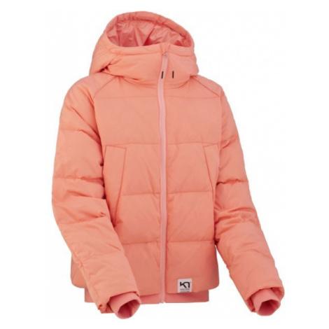 KARI TRAA SKJELDE JACKET ružová - Dámska zimná bunda