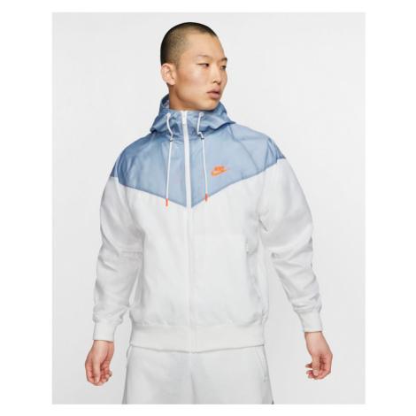 Nike Sportswear Bunda Modrá Biela