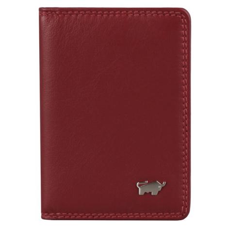 Braun Büffel Kožené puzdro na karty a vizitky Golf 2.0 90446-051 - červená