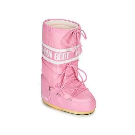Moon Boot MOON BOOT NYLON Ružová