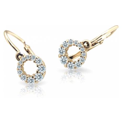 Cutie Jewellery Detské náušnice C2154-10-X-1 světle modrá