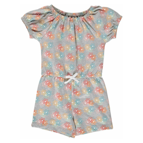 Crafted Jersey Playsuit Infant Girls Floral AOP