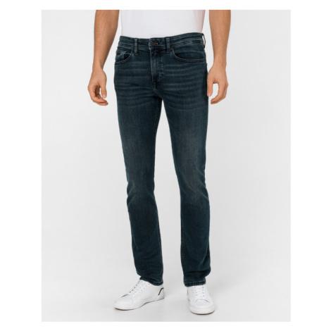 BOSS Delaware Jeans Modrá Hugo Boss