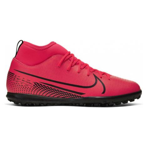 Nike JR MERCURIAL SUPERFLY 7 CLUB TF ružová - Detské turfy