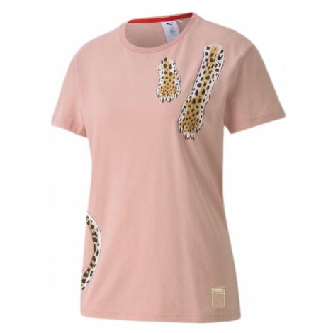 Puma x Charlotte Olympia Women's Tee-XS ružové 596763_90-XS